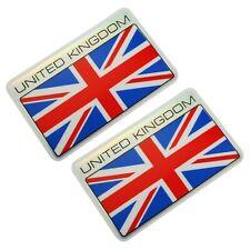 England UK United Kingdom Flag Sticker Emblem Set Self adhesive Water Proof