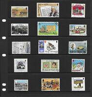 Channel Island 6 pages large  collection stamps