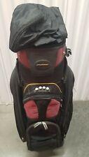 Tour Trek Golf Bag 14 Way Divider Black Putter Well Good Used Condition