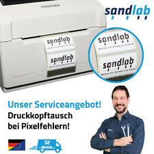 REPARATUR Service TOSHIBA TEC B-EV4 Etikettendrucker Druckkopftausch Pixelfehler