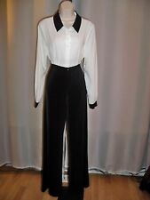 WHITE HOUSE BLACK MARKET BLACK STRETCH WELL TAILORED CLASSIC PANTS 6 NWT 2DIE4
