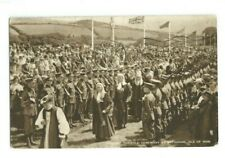 Postcard Ancient Tynwald Ceremony St Johns Isle of Man IOM 1943 Soldiers