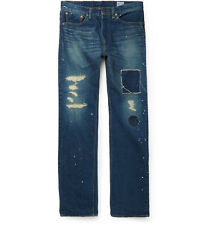 ORSLOW x Beams Standard 105 Distressed Jeans, made in Japan ORSLOW Beams plus
