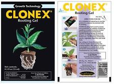 Clonex Gel 15ml - rooting clone cutting solution hydroponics propagation gel