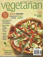Vegetarian Times magazine Recipes Meal plan Stir fry TexMex Pizza Healthy dinner