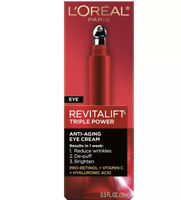 L'Oreal Paris Revitalift Triple Power Eye Treatment .5 Fl Oz