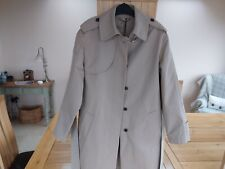 Fay Trench Coat Camel Tie Belt Size S
