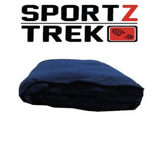 SPORTZTREK Navy Blue Sleeping Bag Liner 100% Cotton 190cm x 75cm Soft Touch
