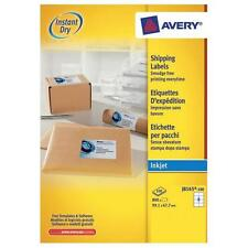 AVERY J8165-100 INKJET PRINTER LABELS 8 PER A4 SHEET