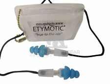 Musicians Earplugs Etymotic Research ER20-SMB-C Hi-Fi Standard Fit ReUsable Blue
