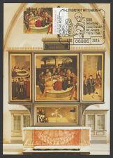 Deutsche Post Maximumkarte 2015 06/2015 L. Cranach Altar Stadtkirche Wittenberg