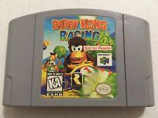 Diddy Kong Racing (Nintendo 64, 1997) NFR Not For Resale Rare Htf  Kiosk Demo