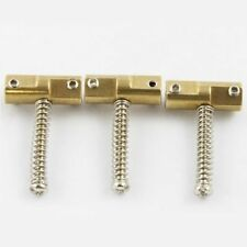 NEW 3 SADDLES WEDGE TELECASTER - brass for guitar Fender