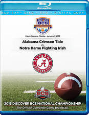 2013 Discover BCS National Championship Game [DVD/Blu-ray Combo], New DVDs