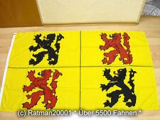 Fahnen Flagge Hainaut ( Belg.Provinz ) - 90 x 150 cm