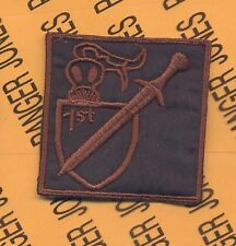 1st Plt 716th MP 101 Airborne HCI Helmet patch A