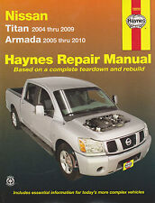 2004-2009 Haynes Nissan Titan & 2005-2010 Armada Repair Manual
