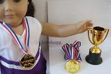 """Winner's Set for 18"""" American Girl Doll Clothes & Girl Lovvbugg Best Selection"""