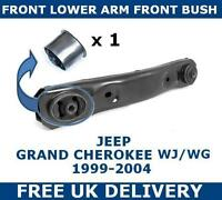 FOR GRAND CHEROKEE WJ WG FRONT LOWER CONTROL SUSPENSION ARM FRONT BUSH 99-04