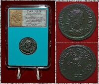 Ancient Roman Empire Coin CARINUS Genius On Reverse Antoninianus