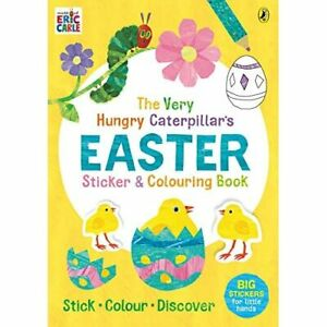 The Very Hungry Caterpillar's Easter Sticker and Colou - Paperback / softback N