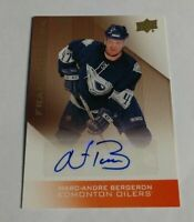 MARC ANDRE BERGERON - 2013 UPPER DECK OILERS - FRANCHISE INK - AUTOGRAPH -