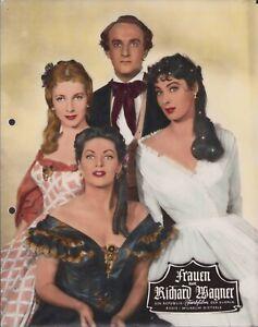Frauen um Richard Wagner Aushangfoto / Filmplakat Alan Badel, Yvonne de Carlo