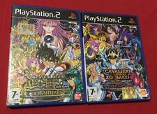 PLAYSTATION 2 SAINT SEIYA IL SANTUARIO + HADES + MEMORY CARD PANDORA BOX CASE