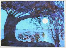 Ernst Fuchs - Starnberger See II - Giclee auf Leinwand - handsigniert