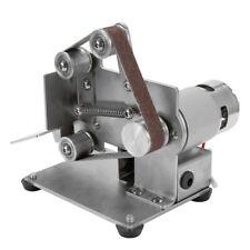 Electric Grinder Belt Sander Mini DIY Polishing Grinding Small Metal Machine