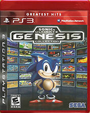 Sonic's Ultimate Genesis Collection Greatest Hits - PS3