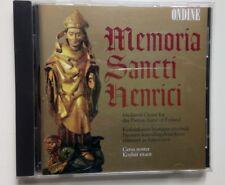 Memoria Sancti Henrici: Medieval Chant for the Patron Saint of Finland - CD