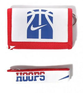 NIKE Wallet and Lanyard Set Basketball Hoops Wallet White AC0365