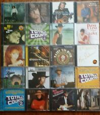 Lot of 40 Country CDs