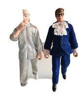 "Austin Powers and Dr Evil 9"" figures Trend Masters 1998 condition is used"
