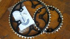 (2x) TA Zephyr Chainrings (34 + 50t) COMPACT Chain Ring 9/10s Road Bike (NEW)