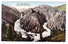 Horse Shoe Bend-Chelan River- Washington-Postcard