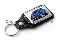 WickedKarz Cartoon Car Vauxhall Mokka Mini SUV in Bright Blue Key Ring