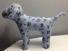 VICTORIA'S SECRET PINK RARE SAMPLE MONOGRAM BLUE DOG