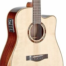 Teton STS150CENT-AR Armrest Acoustic Electric Dreadnought Guitar ONLY, Spruce