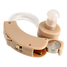 Hearing Amplifier Magnifier Assistance Aid For The Aged Behind The Ear 6 Level
