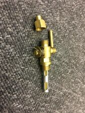 "BSA Norton Triumph AJS Fuel Petrol Gas Tank Brass Tap with lever ¼ x 1/4"""