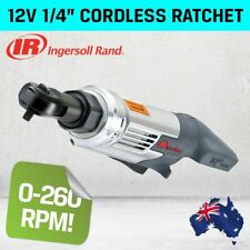 NEW Ingersoll Rand 1/4'' 12V Volt Cordless Ratchet, 30 ft-lbs Torque (R1120)