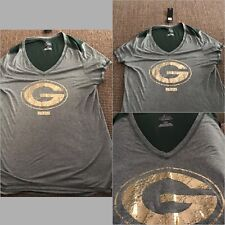 NFL Green Bay Packers Shirt Majestic Woman's Tee Size Large