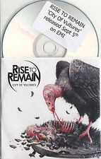 RISE TO REMAIN City Of Vultures 2011 UK 12-track promo test CD