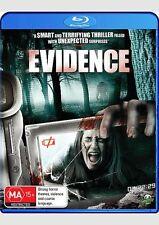Evidence Blu Ray - & Ashley Bracken Abigail Richie Monster Pictures