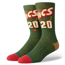 Gary Payton Seattle Supersonics Stance Fusion Socks NEW Men's large 9-13 NBA