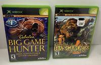 Cabelas Xbox Games Dangerous Hunts Big Game Hunter Complete