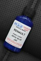RENAULT ARTIC BLUE PAINT CODE J41 Renaultsport Clio PAINT TOUCH UP KIT 30ML 182