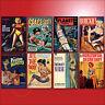 Pulp Fiction Novels Book cover Fridge Magnets Set of 8 large fridge magnets No.1